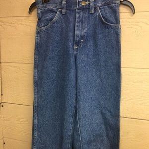 Wrangler Rustler hard playing  boys jeans